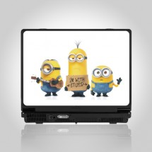 Minions skin for laptop