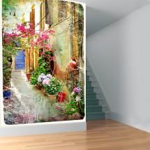 Wallpaper Old Street of Greece 3