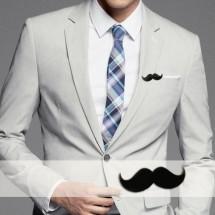 Badge mustache