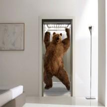 Bear in elevator
