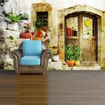 Fototapeta Vintage Door