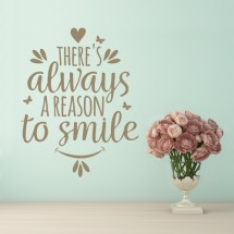Reason to smile