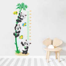 Height measure Pandas