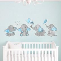 Slonići - plava