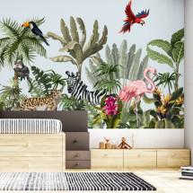 Fototapeta Jungle animals