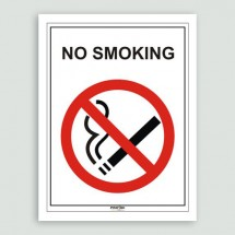 Stickers No smoking