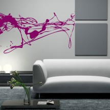 Wall Stickers Splash