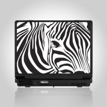 Stickers Skin for laptop Zebra