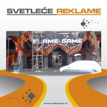 Svetlece reklame Flame Game