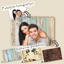 Your picture on wood
