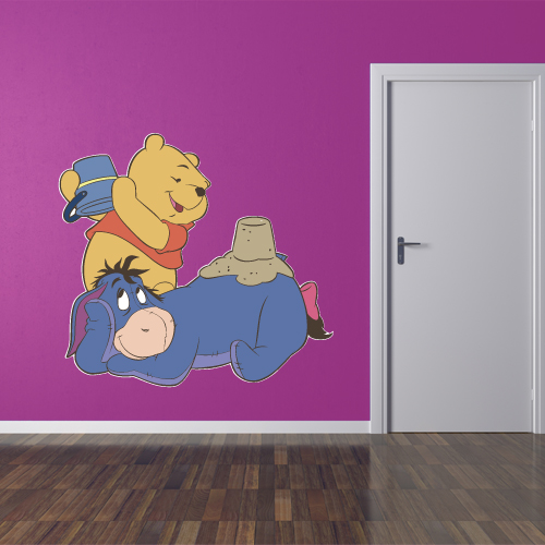Winnie The Pooh and Donkey