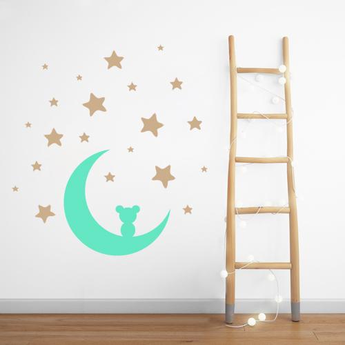 Mesec i zvezdice