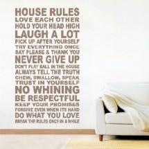 House rules - Klikni za detalje