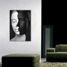 Crno belo lice