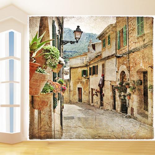 Fototapeta Vintage City 3