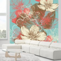 Fototapeta Abstract floral 2 - Klikni za detalje