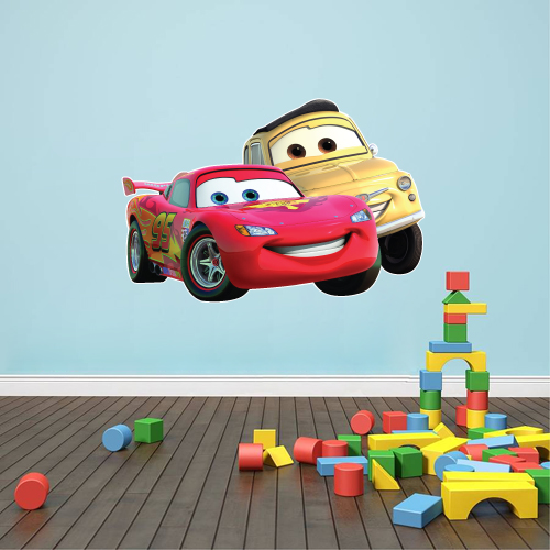 Cars - McQueen and Luigi