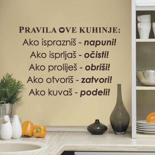 Pravila kuhinje