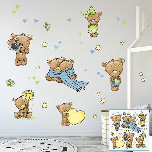 Teddy bear company blue