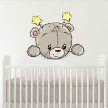Teddy bear with stars