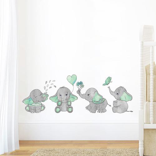 Slonići - zelena