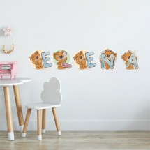 Teddy letters