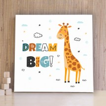 Dream Big giraffe