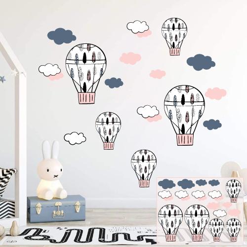 Leteći baloni - devojčice