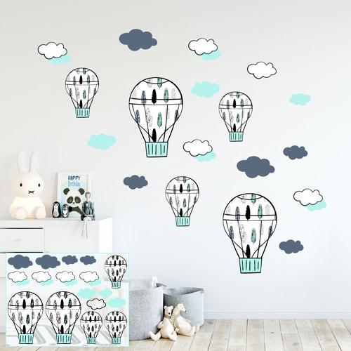 Leteći baloni - dečaci