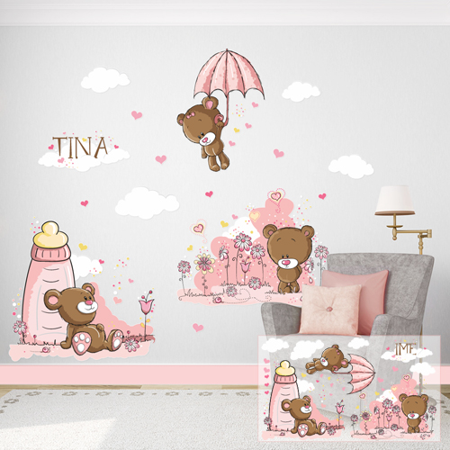 Slatki medvedići - devojčice