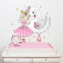 ballerina and swan