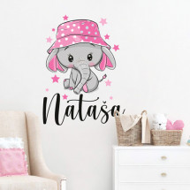 Elephant with hat_dupl