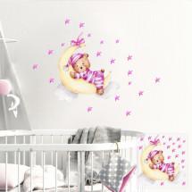 Uspavani medo - roza