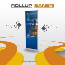 Rollup baner
