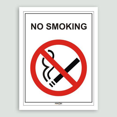 Nalepnice No smoking