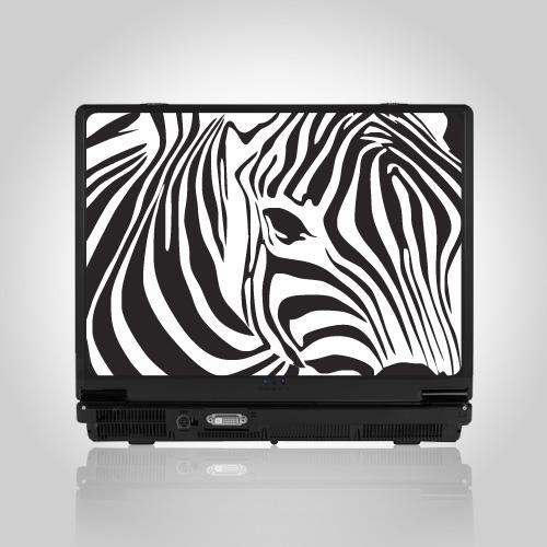 Nalepnice za laptop Zebra