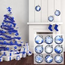 Božićne kugle Plave