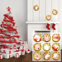 Božićne kugle Crvene