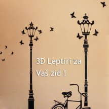 3D Leptiri  AKCIJA - Klikni za detalje