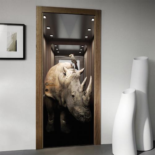 Rhino elevator door skin