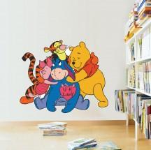 Winnie The Pooh družina